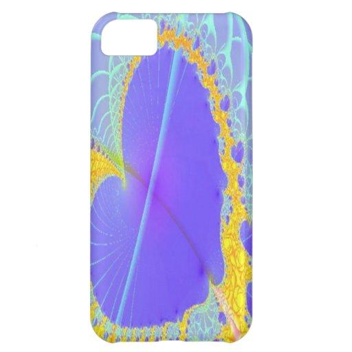Purple Heart art iPhone 5 Case