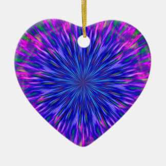 """Purple Heart"" Christmas Ornament"