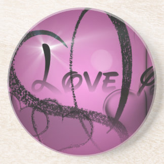 Purple-Heart Coaster