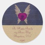 Purple Heart Envelope Seal