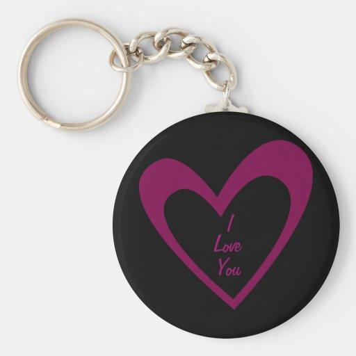 Purple Heart Key Chains