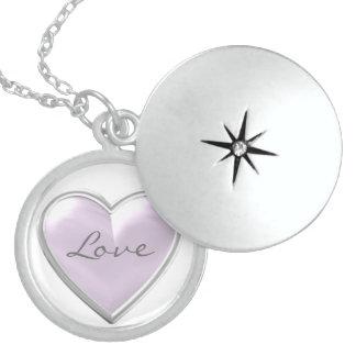 Purple Heart Love Necklace