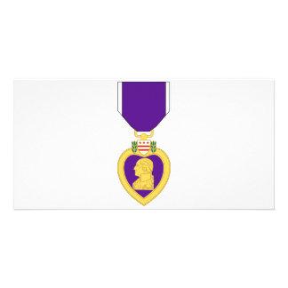 Purple Heart Medal Card