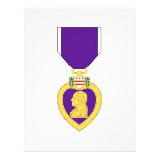 Purple Heart Medal Flyers