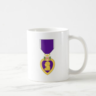 Purple Heart Medal Classic White Coffee Mug