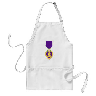 Purple Heart Medal Standard Apron