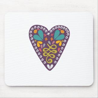 Purple Heart Mousepads