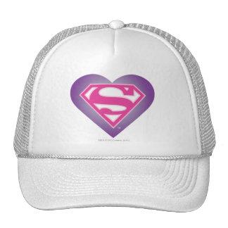 Purple Heart S-Shield Cap