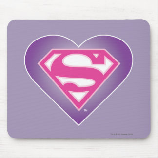 Purple Heart S-Shield Mouse Pad