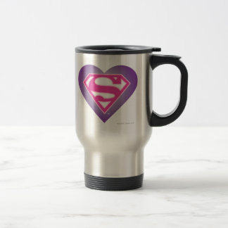 Purple Heart S-Shield Travel Mug