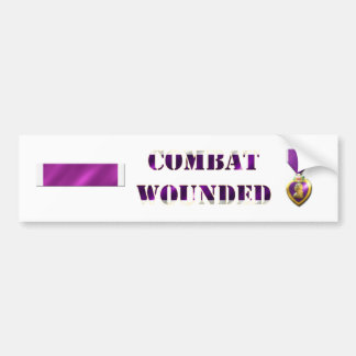 Purple Heart Sticker Set Car Bumper Sticker