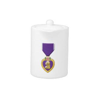 Purple Heart Teapot