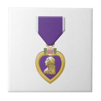 Purple Heart Tile