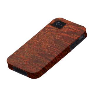 Purple Heart Wood Grain Case-Mate iPhone 4 Cases