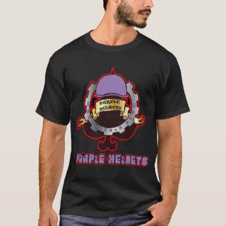 Purple Helmets - Clutch 01 T-Shirt