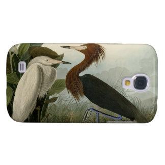 Purple Heron Galaxy S4 Case