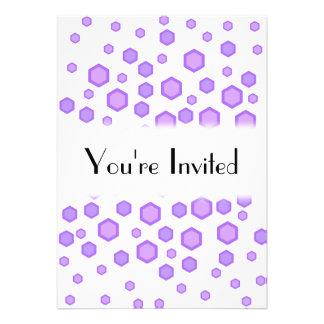 Purple Hexagons Announcement