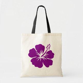Purple hibiscus aloha flower