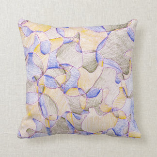 Purple Hidden Ducks Cushion
