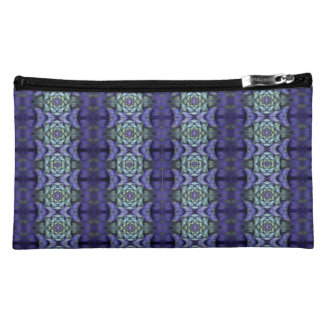 Purple Holly Makeup Bag