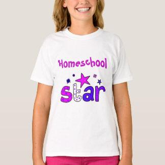 Purple Homeschool Star T-Shirt