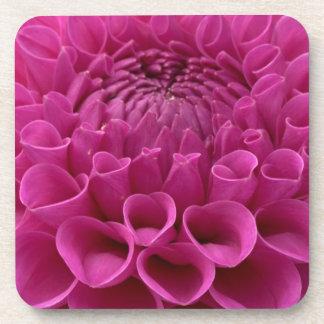 Purple Honeycomb Dahlia On Multiple Products Coasters