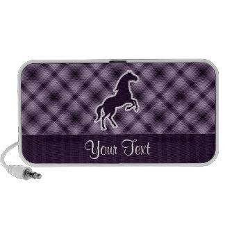 Purple Horse Notebook Speakers
