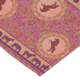 Purple Horses Table Runner