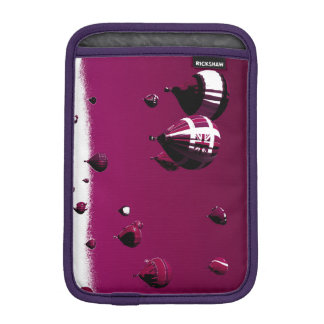 Purple Hot Air Balloon Ipad Mini Case Vertical
