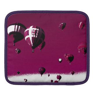 Purple Hot Air Balloon Ipad Sleeve