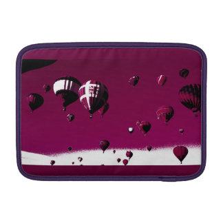 "Purple Hot Air Balloon Macbook Pro Sleeve 11"""