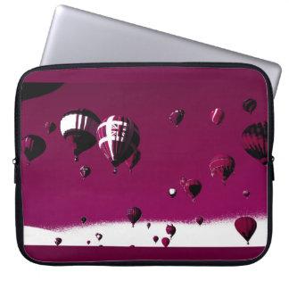 Purple Hot Balloon Art Poster Laptop Case Laptop Sleeve