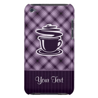 Purple Hot Coffee Barely There iPod Case