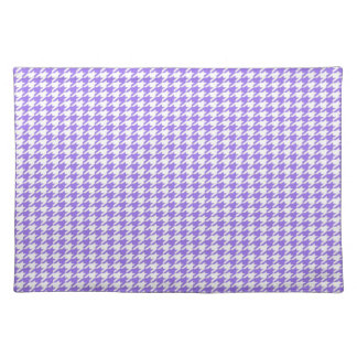 Purple Houndstooth Placemat
