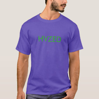 purple hvzed t shirt