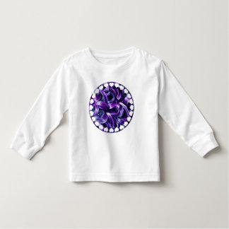 Purple Hyacinth Flower Toddler T-Shirt