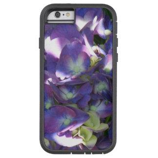 Purple Hydrangea Flowers Tough Xtreme iPhone 6 Case