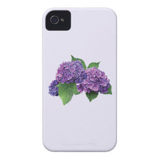 Purple Hydrangea iPhone 4 Case-Mate Cases