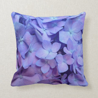 Purple Hydrangea Pillow