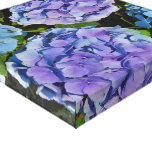 Purple Hydrangea Plant Stretched Canvas Prints