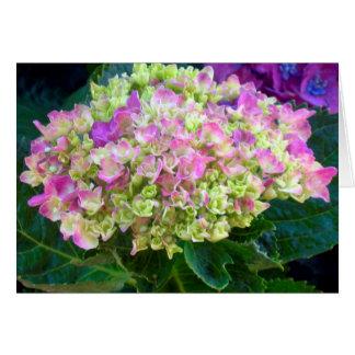 Purple Hydrangea Sweet Friend Card