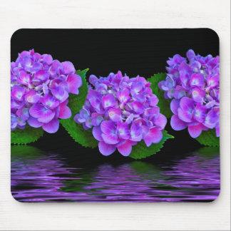 Purple Hydrangeas Mouse Mat