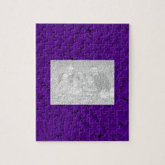 Purple I love cheerleading Jigsaw Puzzle