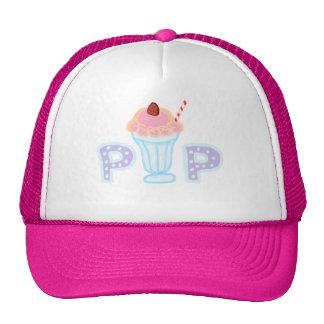Purple Ice Cream Cap