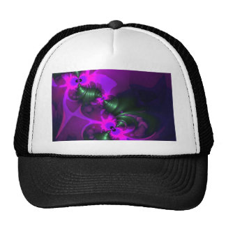 Purple Imp – Violet and Magenta Ribbons Trucker Hats