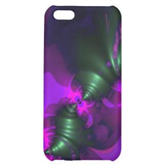 Purple Imp – Violet and Magenta Ribbons Case For iPhone 5C