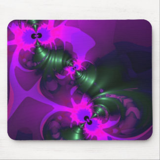 Purple Imp – Violet and Magenta Ribbons Mousepads