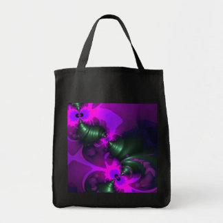 Purple Imp – Violet and Magenta Ribbons Tote Bags