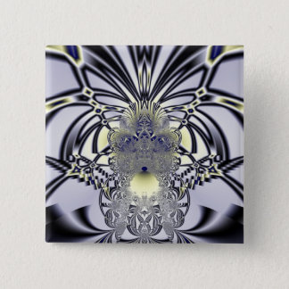 Purple Iris 15 Cm Square Badge