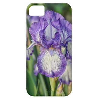 Purple Iris Barely There iPhone 5 Case